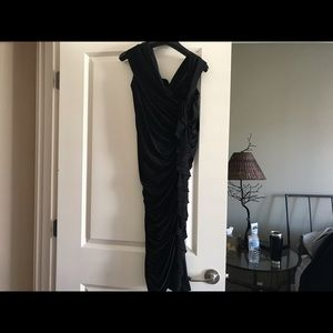 Melinda Eng Dresses - Melinda Eng Sleeveless black evening dress